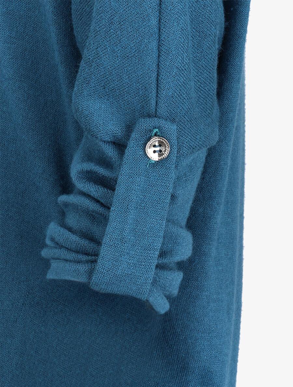 Pull chauve souris avec sautoir - bleu image number null