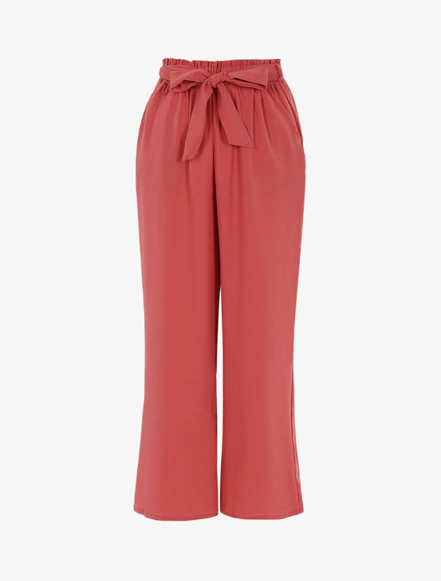 Pantalon fluide coupe large image number null
