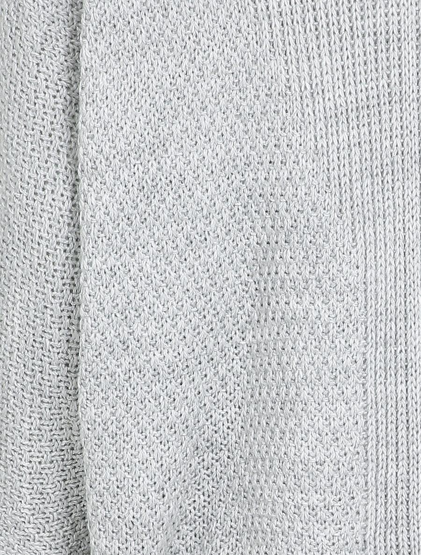 Gilet oversize à manches dolmans et détail en V au dos - gris clair image number null