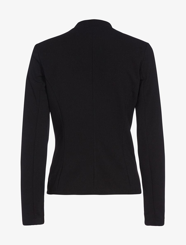 Veste à fausses poches contrastantes - noir image number null