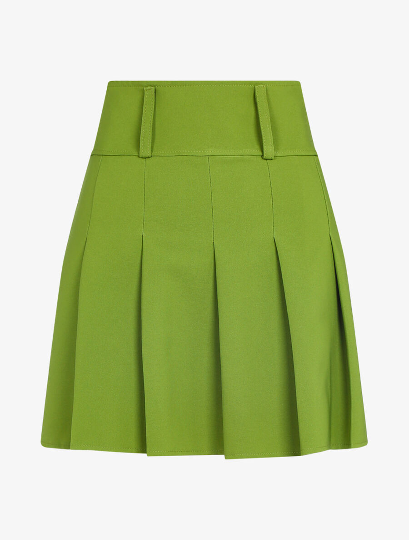 Mini jupe plissée image number null