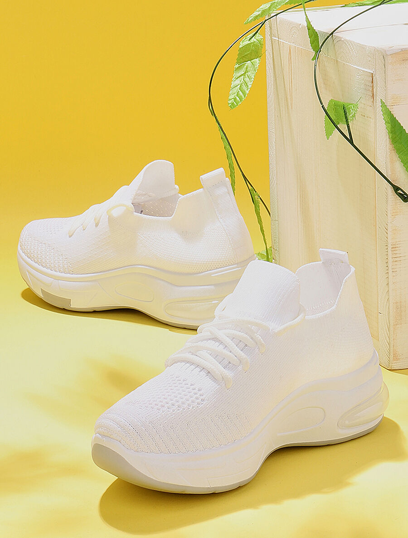Baskets chaussettes à lacets image number null