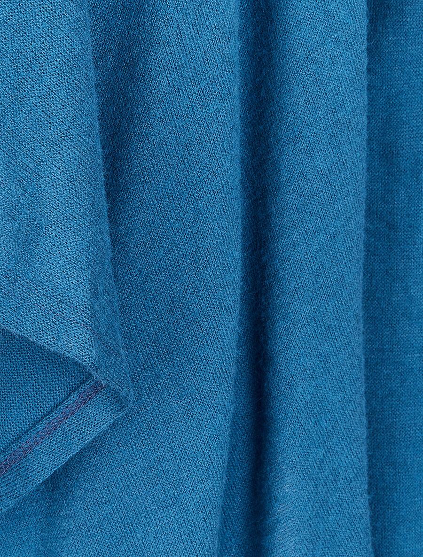 Gilet ouvert à col châle - bleu charrette image number null
