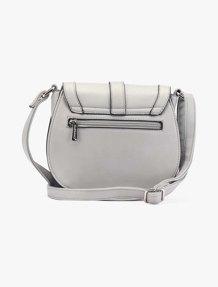 Sac besace Micheline - gris clair image number null