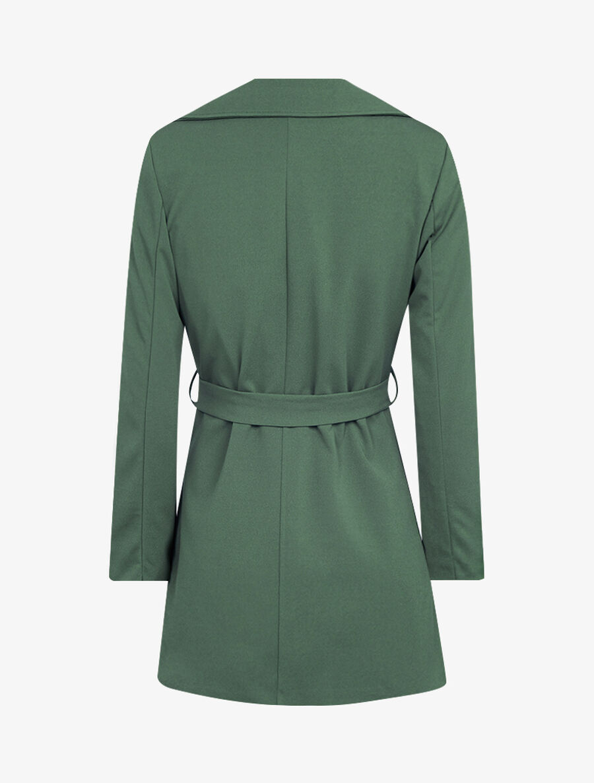 Veste style trench coat - kaki image number null