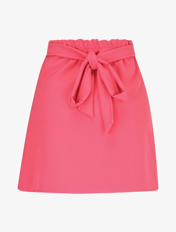 Mini jupe coupe portefeuille - fushia image number null