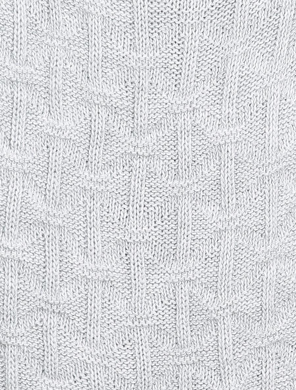 Pull sans manches en maille tressée - gris clair image number null