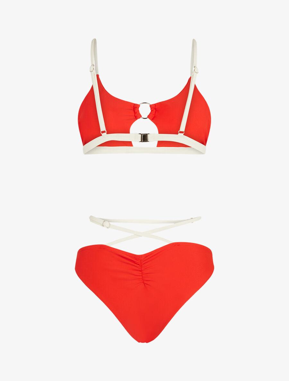 Bikini brassière à découpe - orange image number null