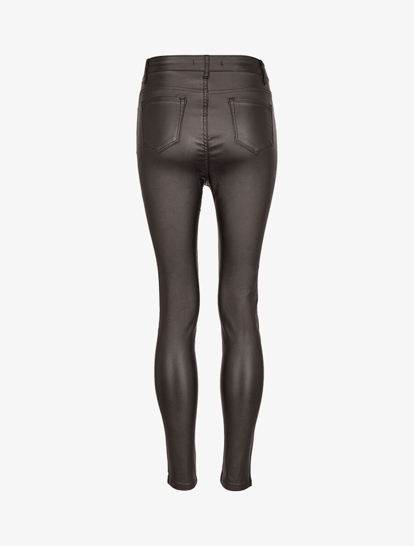 Jean enduit ultra skinny - noir image number null