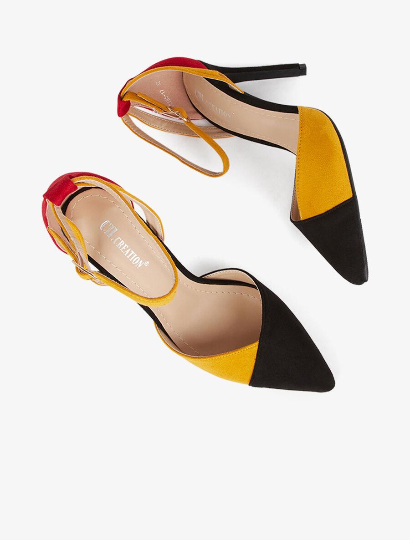 Sandales color block - noir image number null