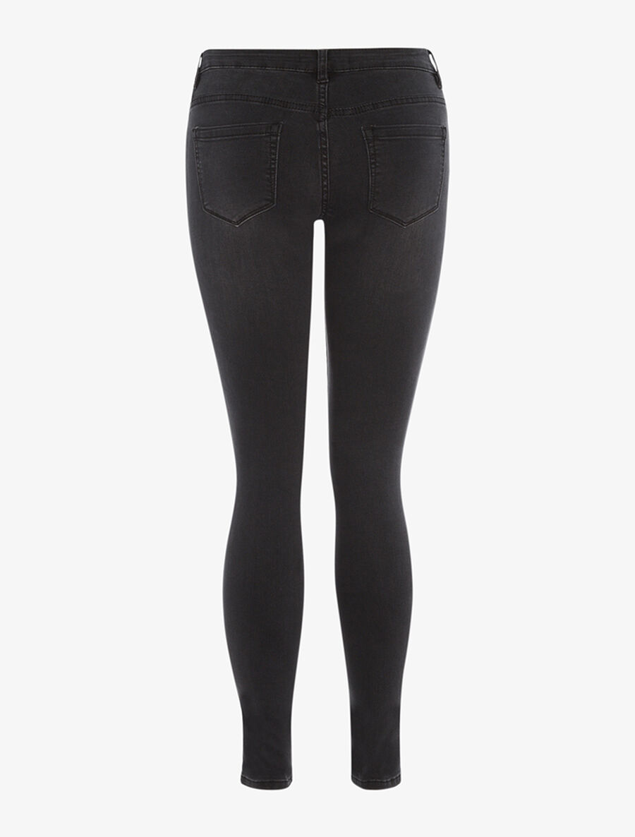 Jean coupe carotte slim - anthracite image number null