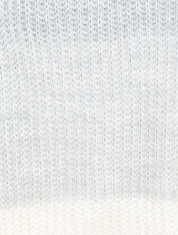 Pull en grosse maille contrastée - gris clair image number null