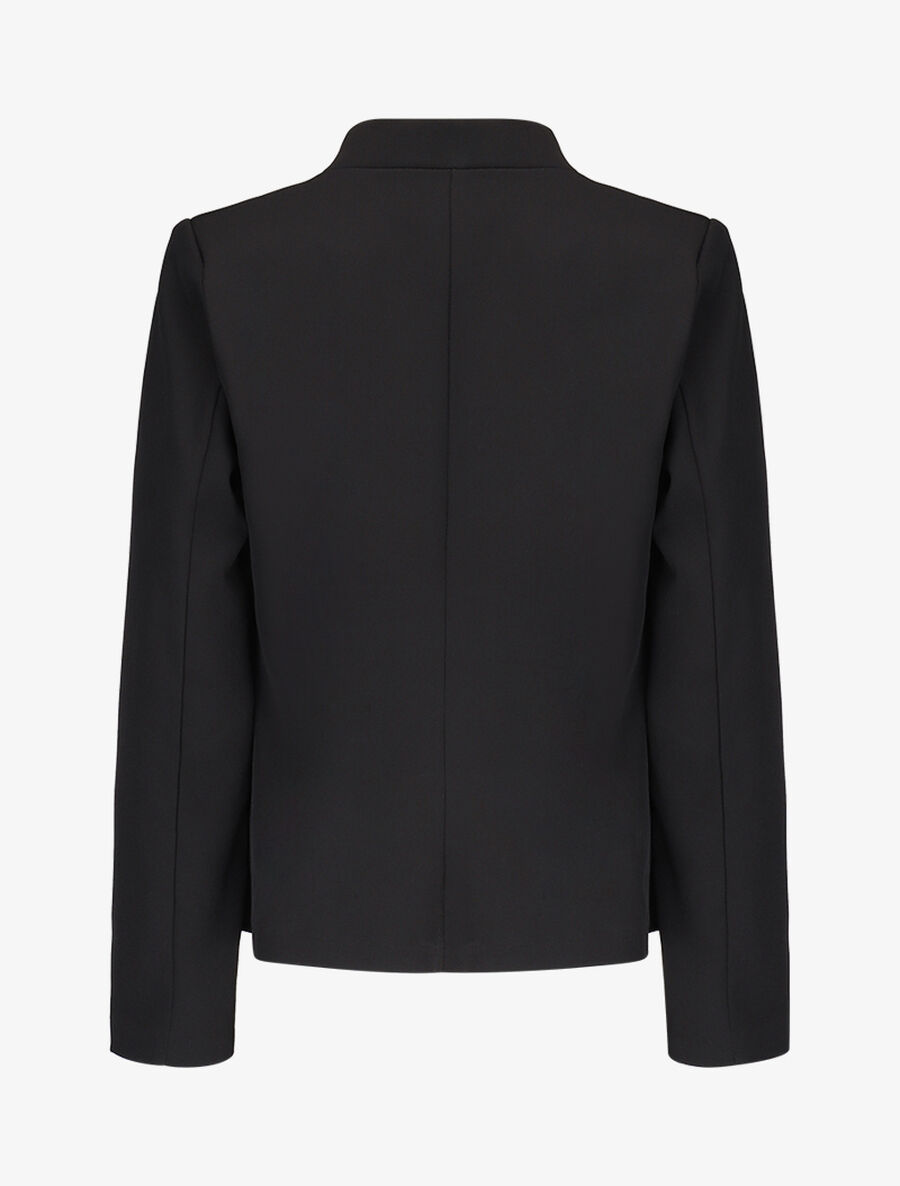 Blazer casual ouvert - noir image number null