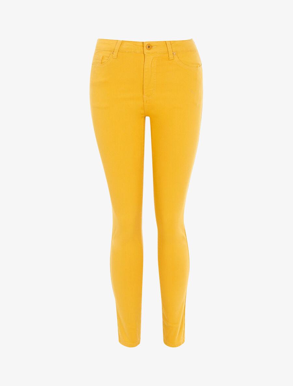 Jean slim uni - jaune image number null