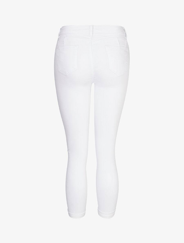Jean slim uni - blanc image number null