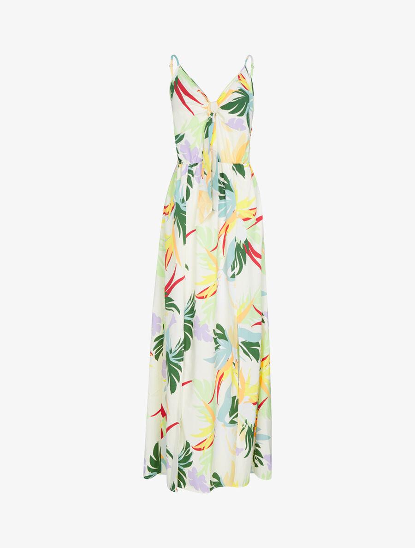 Robe à imprimé fleurs d'été - ecru image number null