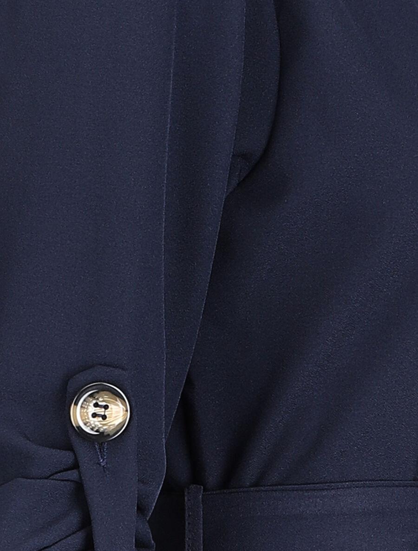 Robe chemise unie - marine image number null