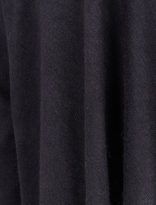 Gilet ouvert à col châle - noir image number null
