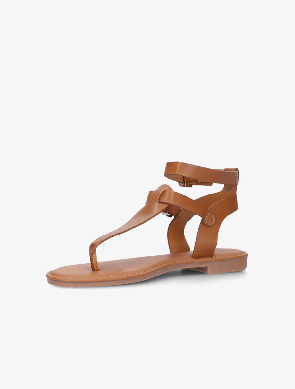 Nu-pieds à double brides - camel image number null