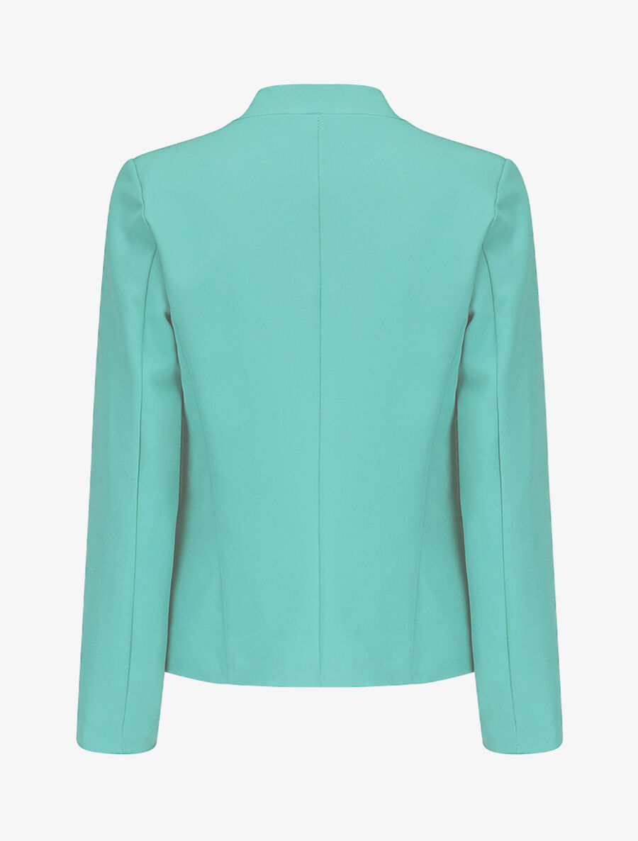 Blazer casual ouvert - turquoise image number null
