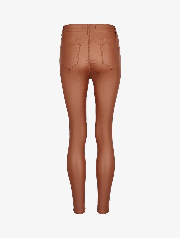 Jean enduit ultra skinny - camel image number null