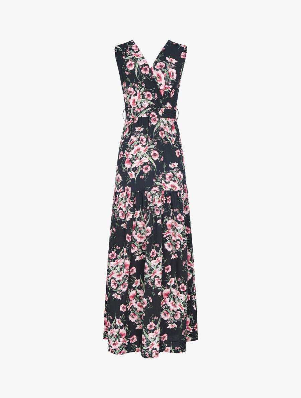Robe à imprimé floral - noir image number null